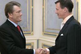 President of Ukraine met Danish Prince