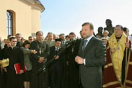 Ukraine's Chief of Staff Victor Baloha participated in the opening of a new church