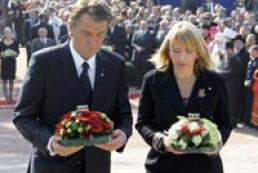 Ukraine's President honors Babyn Yar victims
