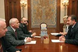 Ukraine's Baloha meets Poland's Aleksander Szczygło