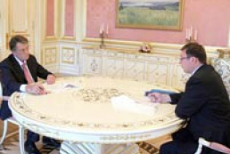 Ukraine's Interior Minister rendered an account to the President