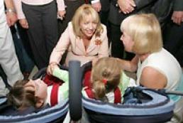 Kateryna Yushschenko visited Truskavets Hospital for Children with Infantile Celebral Paralysis