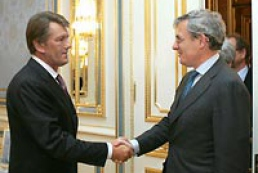 President of Ukraine meets Jean Lemierre