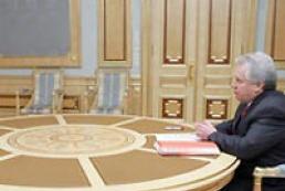 President of Ukraine meets General Prosecutor Oleksandr Medvedko