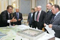 President of Ukraine hold a meeting in Art Arsenal