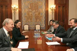 Ukraine's Baloha met EU Ambassador to Ukraine Ian Boag