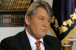 Ukraine's Yushchenko attended presentation of Holocaust documentary