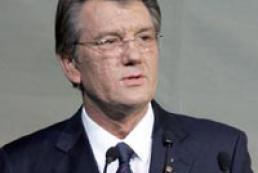 Ukraine's Yushchenko met Hungarian President