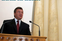 Yanukovych states positive moments for the first 100 days of governmental work