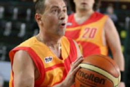 Ukraine's politicians and cultural workers played basketball