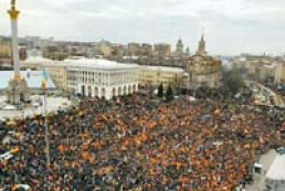 No orange revolution celebration in Ukraine