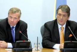 Ukraine's President calls Jaap de Hoop Scheffer
