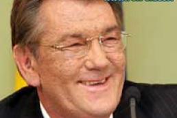 "Yushchenko left for Georgia to celebrate anniversary of ""revolution of roses"""