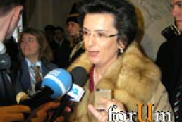 Burdjanadze sympathizes with Yushchenko