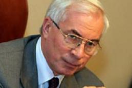 Azarov is impatient to get Yushchenko's signature