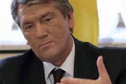 Yushchenko: I don't acknowledge Tarasyuk's dismissal