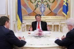Ukrainian leaders discuss 2007 agenda
