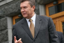 Yanukovych comments on the meeting with President of Ukraine and the VR Speaker