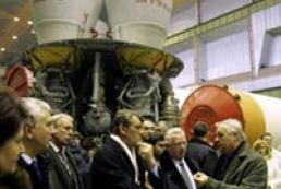 Ukraine's President visits Alchevsk Steel Mill