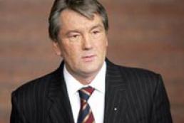 President Yushchenko met Ukrainian community in Romania