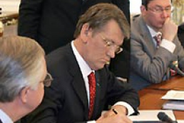 Yushchenko not to sign law on Cabinet