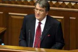 Ukraine's President accepts Tarasyuk's resignation