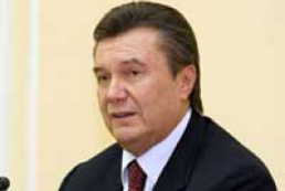 Yanukovych comments on gas transport system issue
