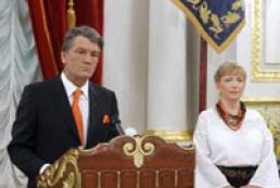 Ukraine's President hosted diplomatic reception
