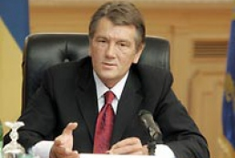 Yushchenko leaves for inauguration of Turkmen colleague