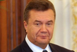 Yanukovych positively estimates operation of