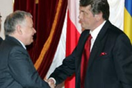 Ukraine President meets Polish leader