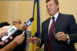 Yanukovych invited journalists to tea