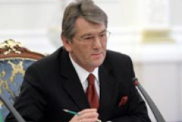 Yushchenko speaks with President of the European Parliament