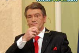 Yushchenko considers early elections the only way out