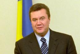 Yanukovcyh's statement on International Children protection Day