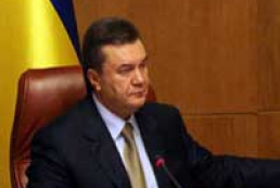 Yanukovych hopes for fruitful cooperation with Syria