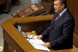 Yanukovych considers opposition do not hurry up to resign