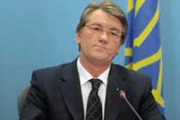 Ukrainian TV sees social advertising with Yushchenko's participating