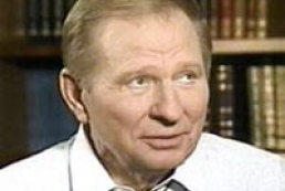 Kuchma predicts double elections in Ukraine