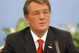 Yushchenko Congratulates businessmen who rejected VR Candidacy