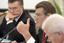 Yushchenko hopes Yanukovych and Moroz will keep their word