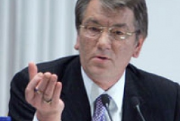 Yushchenko will not permit pressure upon voters and mass media