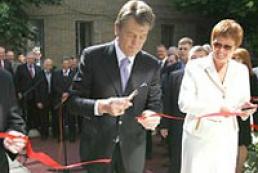 President opens plant in Tavriysk
