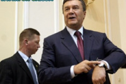 Yanukovych will not spend much time for election campaign