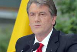 Yushchenko is not satisfied with law on elections