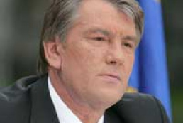 Yushchenko congratulated oil and gas industry workers