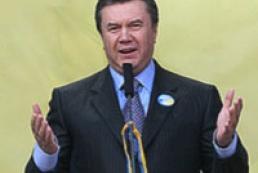 Yanukovych praised Zhytomyr regional council