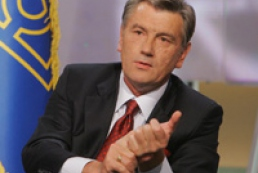 Yushchenko charged law enforcement bodies to check reasons of retardation of results