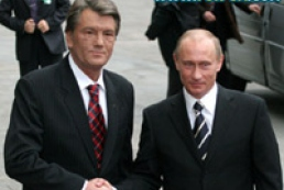 Yushchenko congratulated Putin on his birthday