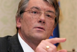 Yushchenko warns democratic team against mistakes of the past